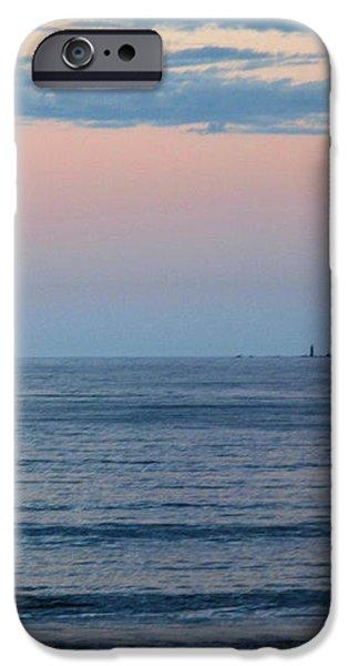 Atlantic Moon Rise iPhone Case by Barbara McDevitt