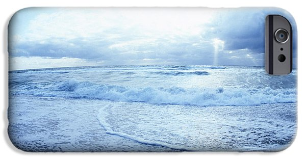 North Sea iPhone Cases - Atlantic on the Rise iPhone Case by Jan Faul