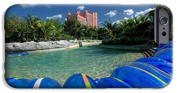 Atlantis iPhone Cases - Atlantis Paradise Island Bahamas iPhone Case by Amy Cicconi