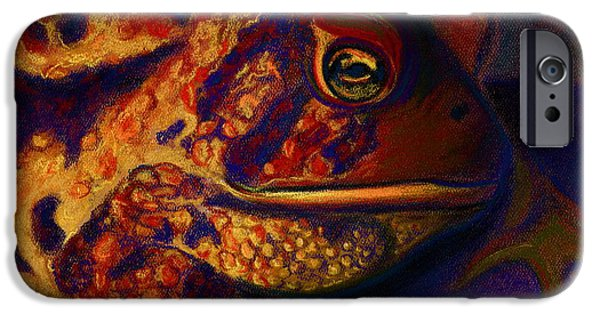 Rust Pastels iPhone Cases - Atoadment iPhone Case by D Renee Wilson