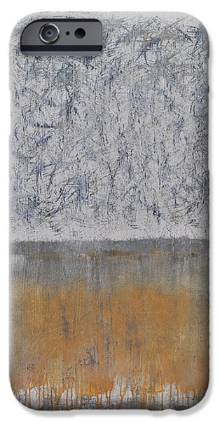 Representative Abstract Mixed Media iPhone Cases - Atomic Pathways iPhone Case by Lloyd Knowles