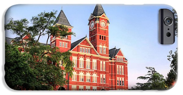 Auburn iPhone Cases - Auburn iPhone Case by JC Findley