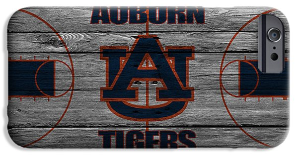 Auburn iPhone Cases - Auburn Tigers iPhone Case by Joe Hamilton