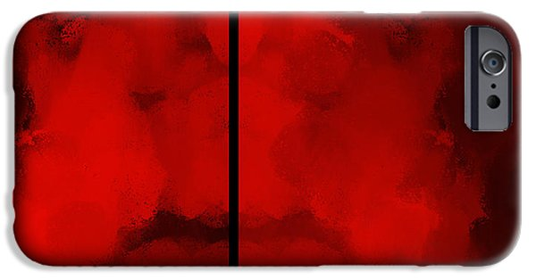 Abstract Digital Drawings iPhone Cases - Auction M B M 178 iPhone Case by Sir Josef  Putsche Social Critic