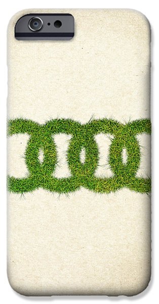 Fanatic iPhone Cases - Audi Grass Logo iPhone Case by Aged Pixel