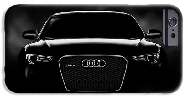 Selective Color iPhone Cases - Audi RS5 iPhone Case by Douglas Pittman