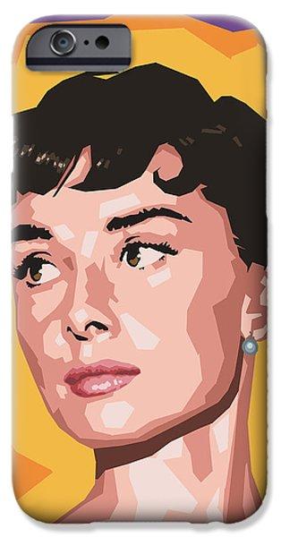Audrey iPhone Case by Douglas Simonson