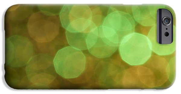 Glitters iPhone Cases - Aura iPhone Case by Jan Bickerton
