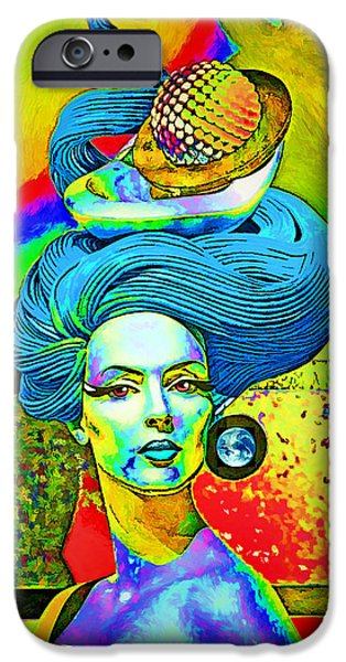 First Lady iPhone Cases - Aurora iPhone Case by Chuck Staley