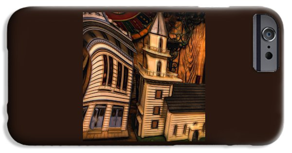House iPhone Cases - Aurora Doll House iPhone Case by Thom Zehrfeld