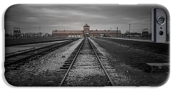 Fletcher iPhone Cases - Auschwitz-Birkenau iPhone Case by Chris Fletcher