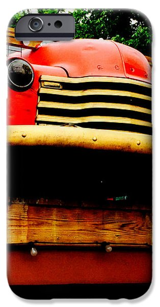 Austin Texas - Maria's Taco Express - Luther Fine Art iPhone Case by Luther   Fine Art
