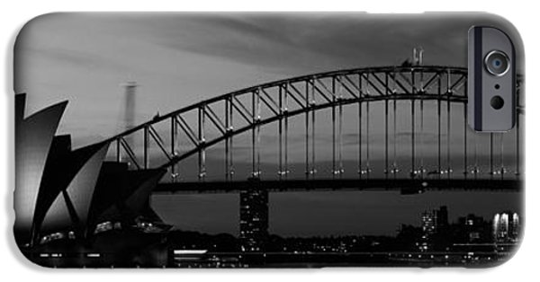 White House iPhone Cases - Australia, Sydney, Sunset iPhone Case by Panoramic Images
