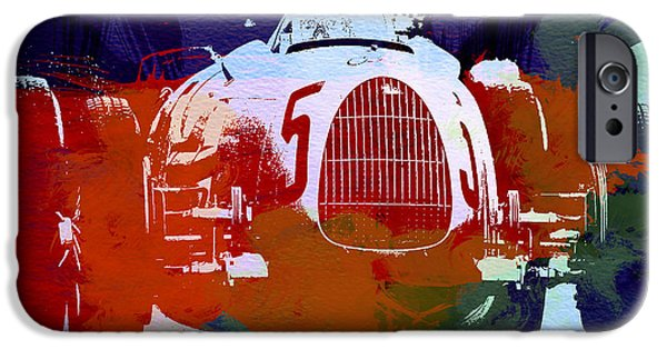 Racing Photographs iPhone Cases - Autounion  iPhone Case by Naxart Studio