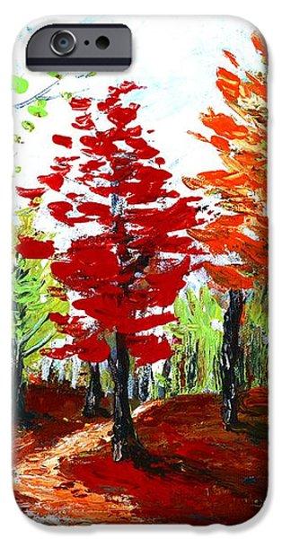 Autumn iPhone Case by Anastasiya Malakhova