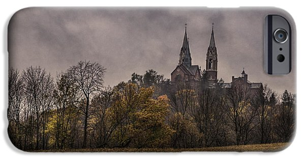Historic Site iPhone Cases - Autumn Arrives At Holy Hill iPhone Case by Thomas Young