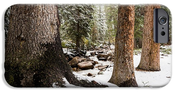 Gore iPhone Cases - Autumn At Gore Creek 5 - Vail Colorado iPhone Case by Brian Harig