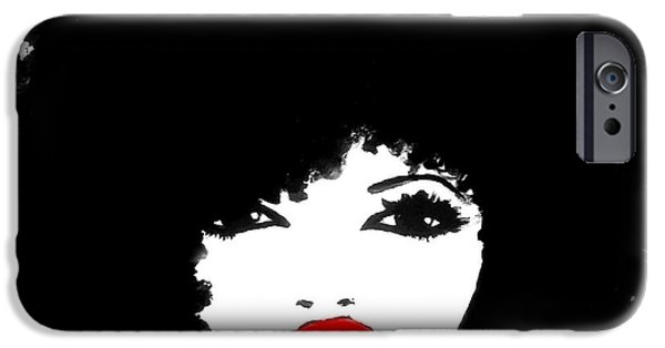 Afro iPhone Cases - Autumn Attitude iPhone Case by Respect the Queen