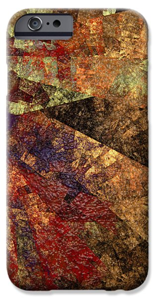 Abstractions iPhone Cases - Autumn Bend iPhone Case by Andee Design