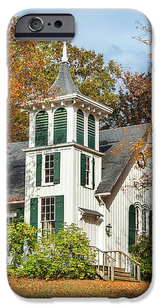 Autumn Church iPhone Case by Bill  Wakeley