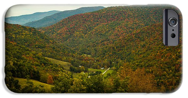 West Fork iPhone Cases - Autumn Comes To Appalachia  iPhone Case by Howard Tenke