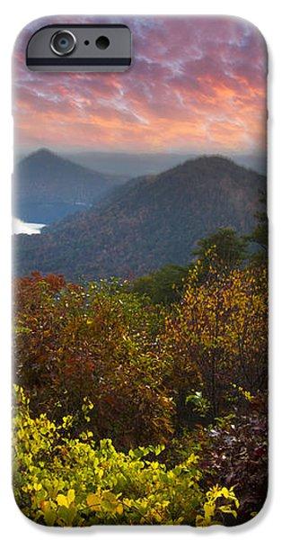 Autumn Evening Star iPhone Case by Debra and Dave Vanderlaan