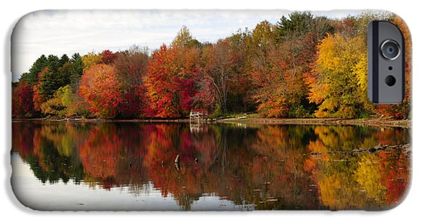Recently Sold -  - Red Rock iPhone Cases - Autumn Explosion iPhone Case by Luke Moore