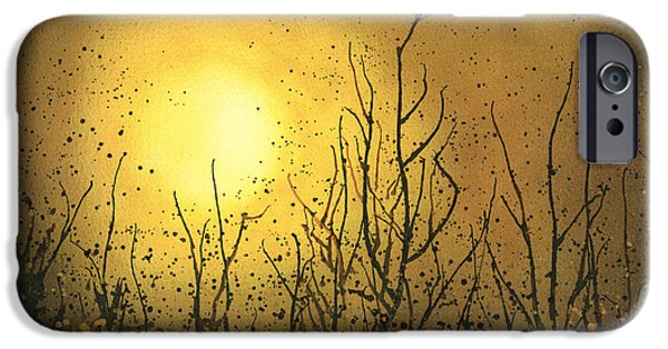 Airbrush iPhone Cases - Autumn/Fall iPhone Case by Emma Childs