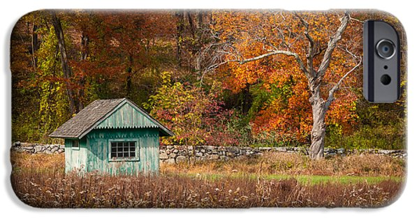 Multimedia iPhone Cases - Autumn Getaway iPhone Case by Frank Mari