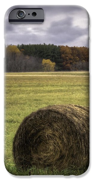 Field. Cloud iPhone Cases - Autumn Harvest  iPhone Case by Thomas Young