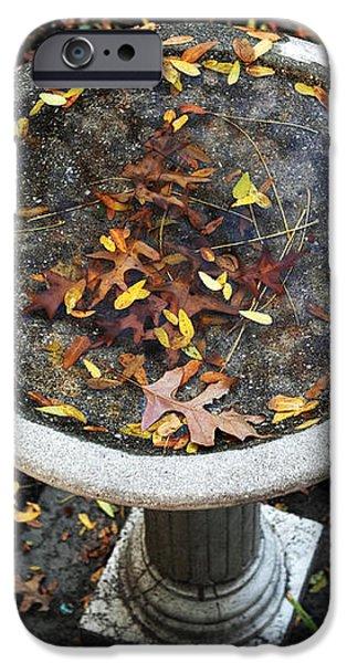 Autumn in Boston iPhone Case by John Rizzuto