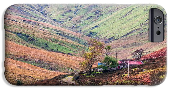 Rainy Day iPhone Cases - Autumn in Connemara Ireland iPhone Case by Pierre Leclerc Photography