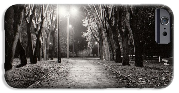 Electrical iPhone Cases - Autumn in Minsk iPhone Case by Vadim Levin