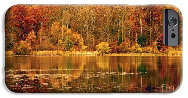 Impressions Of Light iPhone Cases - Autumn in Mirror Lake iPhone Case by Paul W Faust -  Impressions of Light