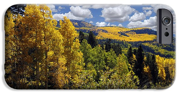 Recent iPhone Cases - Autumn in New Mexico iPhone Case by Kurt Van Wagner