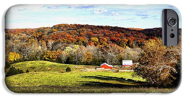 Autumn In The Country iPhone Cases - Autumn in the Country iPhone Case by Cricket Hackmann