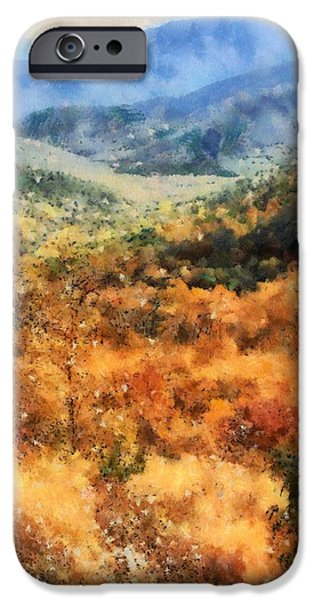 Colors Of Autumn iPhone Cases - Autumn In The Shenandoah Valley iPhone Case by Dan Sproul