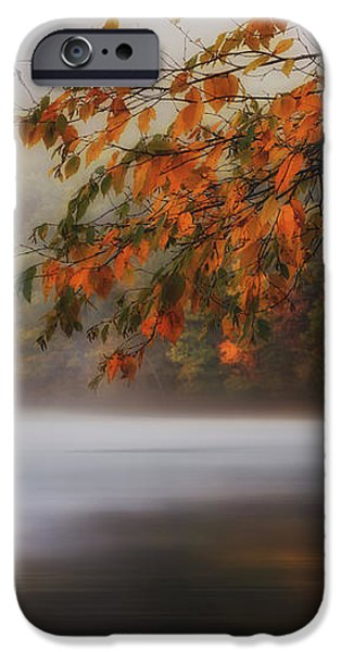 Autumn Lake iPhone Case by Bill  Wakeley