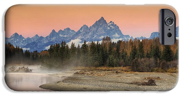 Beauty Mark iPhone Cases - Autumn Mist iPhone Case by Mark Kiver