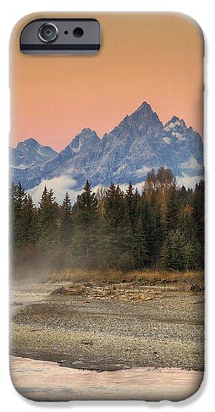 Autumn Mist iPhone Case by Mark Kiver