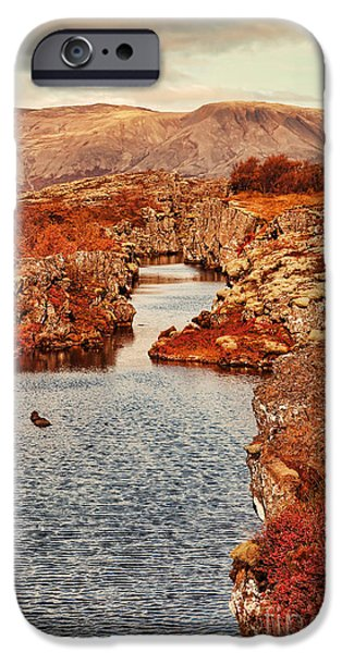 Autumn or Fall iPhone Case by Jasna Buncic