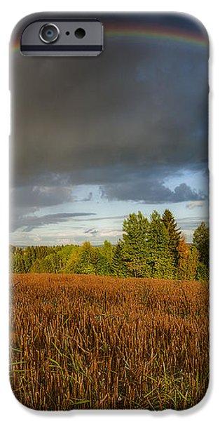 Autumn Rainbow iPhone Case by Erik Brede