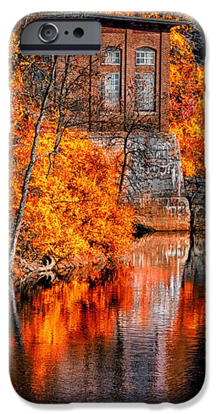 Autumn Reflections  iPhone Case by Bob Orsillo