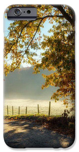 Autumn Road iPhone Case by Bill  Wakeley