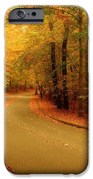 Autumn Serenity - Holmdel Park  iPhone Case by Angie Tirado