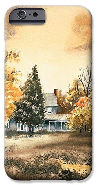 Autumn Sky No W103 iPhone Case by Kip DeVore