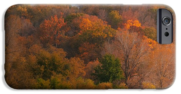 Earth Tones Photographs iPhone Cases - Autumn Splendor iPhone Case by Don Spenner
