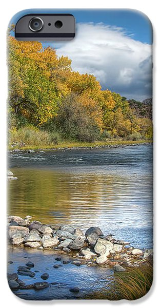 Autumn Stance iPhone Case by Britt Runyon