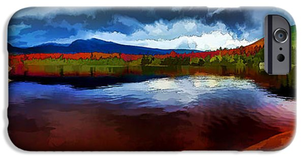 Storm iPhone Cases - Autumn Storm at Roaring Brook iPhone Case by Bill Caldwell -        ABeautifulSky Photography