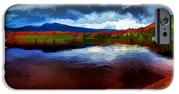 States iPhone Cases - Autumn Storm at Roaring Brook iPhone Case by Bill Caldwell -        ABeautifulSky Photography